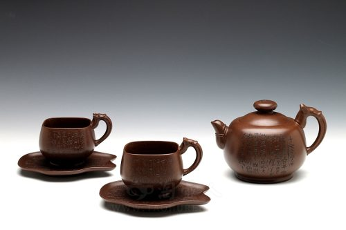 葛明仙制瑰宝(套组)壶