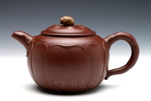 陈国良制蜜蜂莲心(薄胎)壶