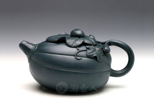 葛陶中制金瓜壶