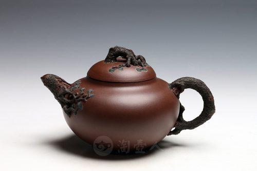 陈国良制亦松(薄胎)壶
