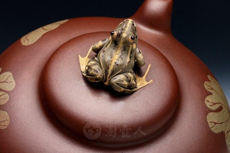 荷叶青蛙(薄胎)