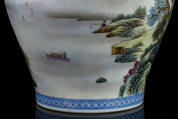 江山如画将军罐