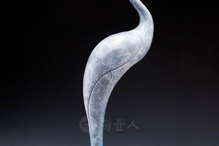 仙鹤衔珠香炉
